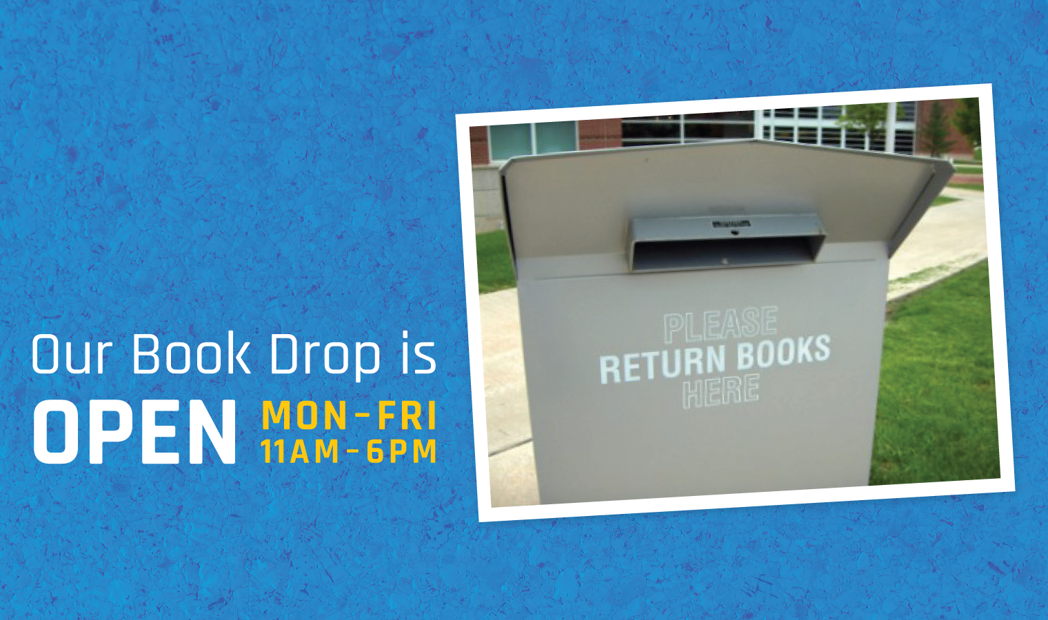 Tolono Book Drop is Now Open!